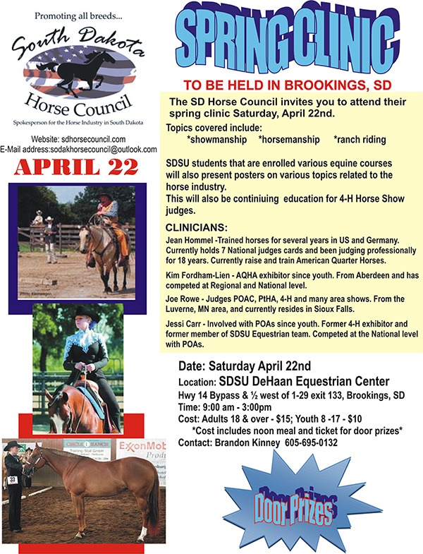 2017 Horse Council Sprint Clinic.